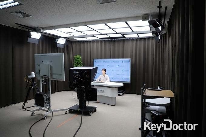 건국대병원, 코로나 시대 직원 교육 위해  영상 콘텐츠 제작실(Studio K) 개소