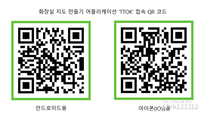 'TTOK' QR 코드